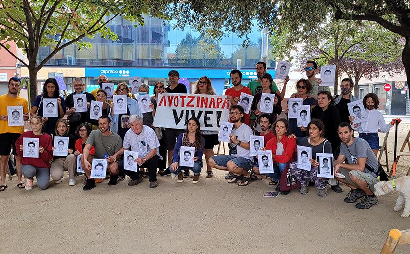 Recordant els 47 d'Ayotzinapa en el 7è aniversari